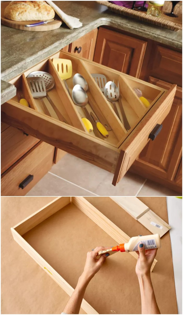 Make the Most of Kitchen Drawers