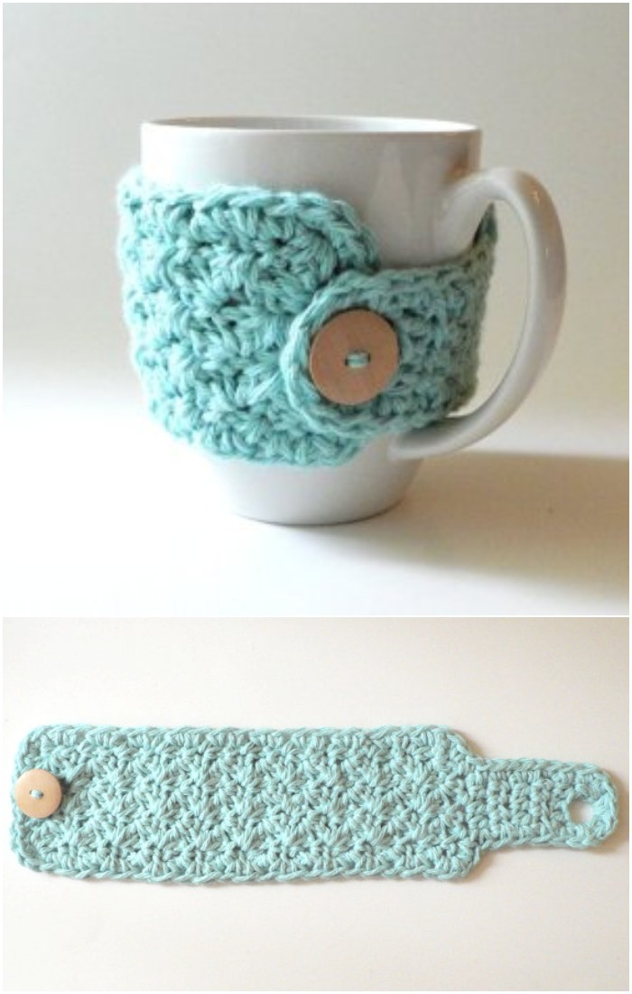 Mug Crochet cozy pattern