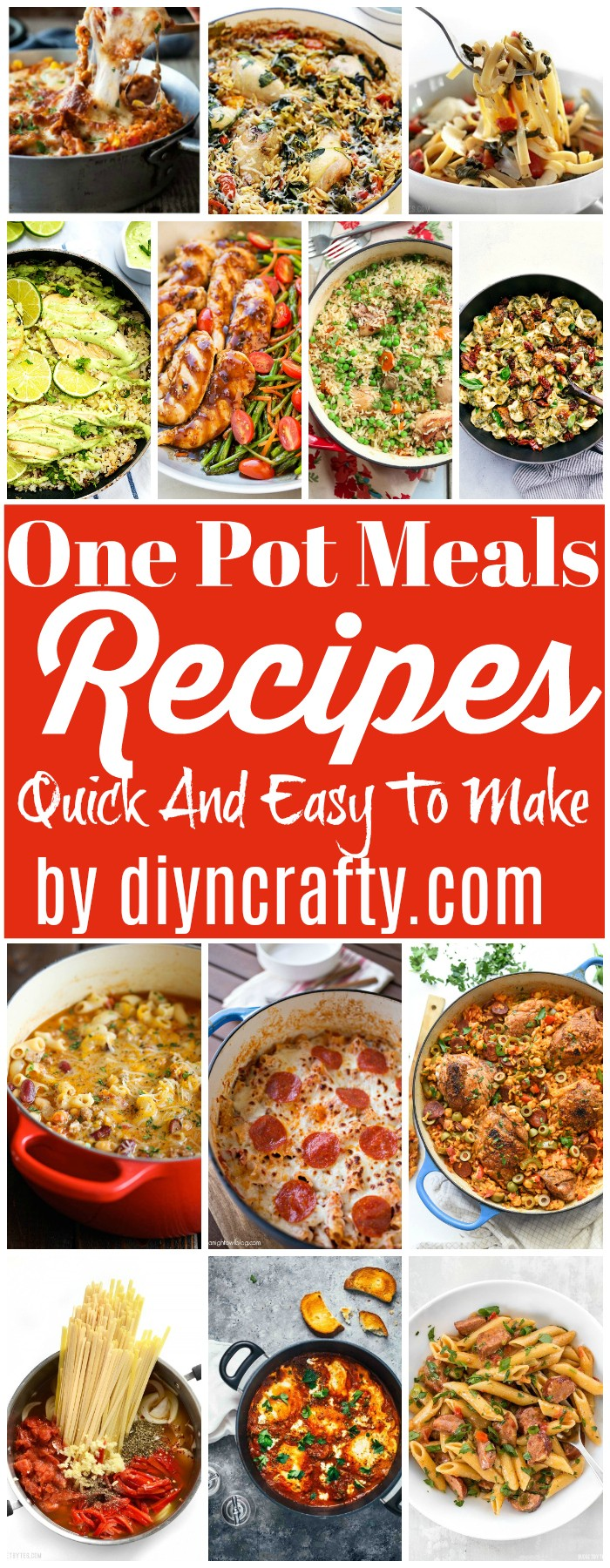 One Pot Meals Recipes