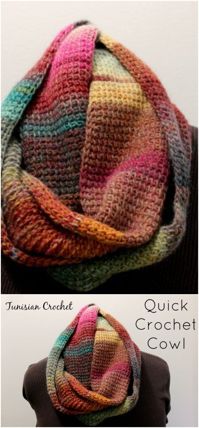Quick Crochet Cowl