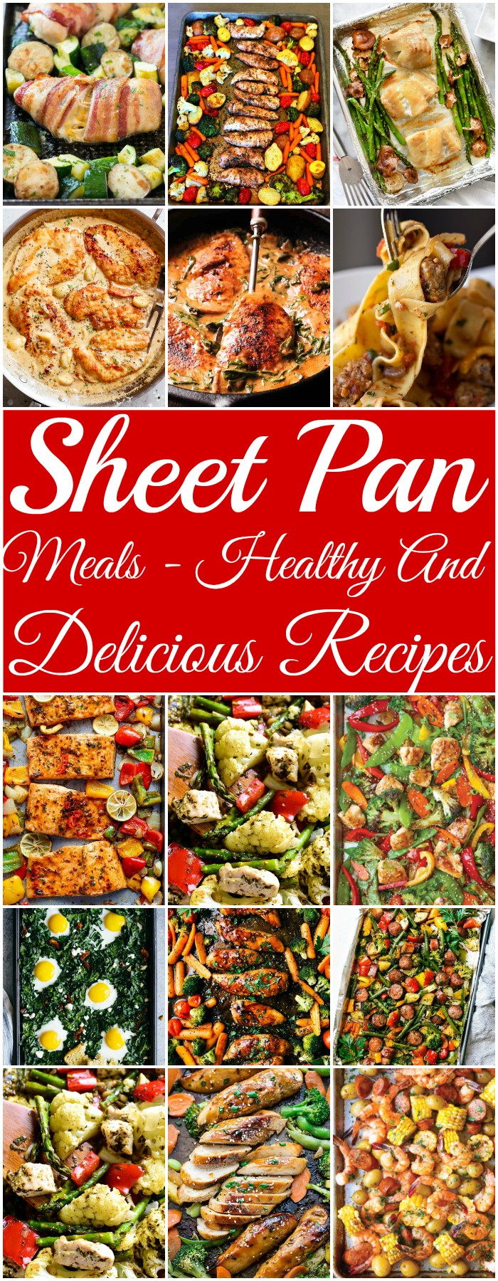Sheet Pan Meals - Healthy And Delicious Recipes