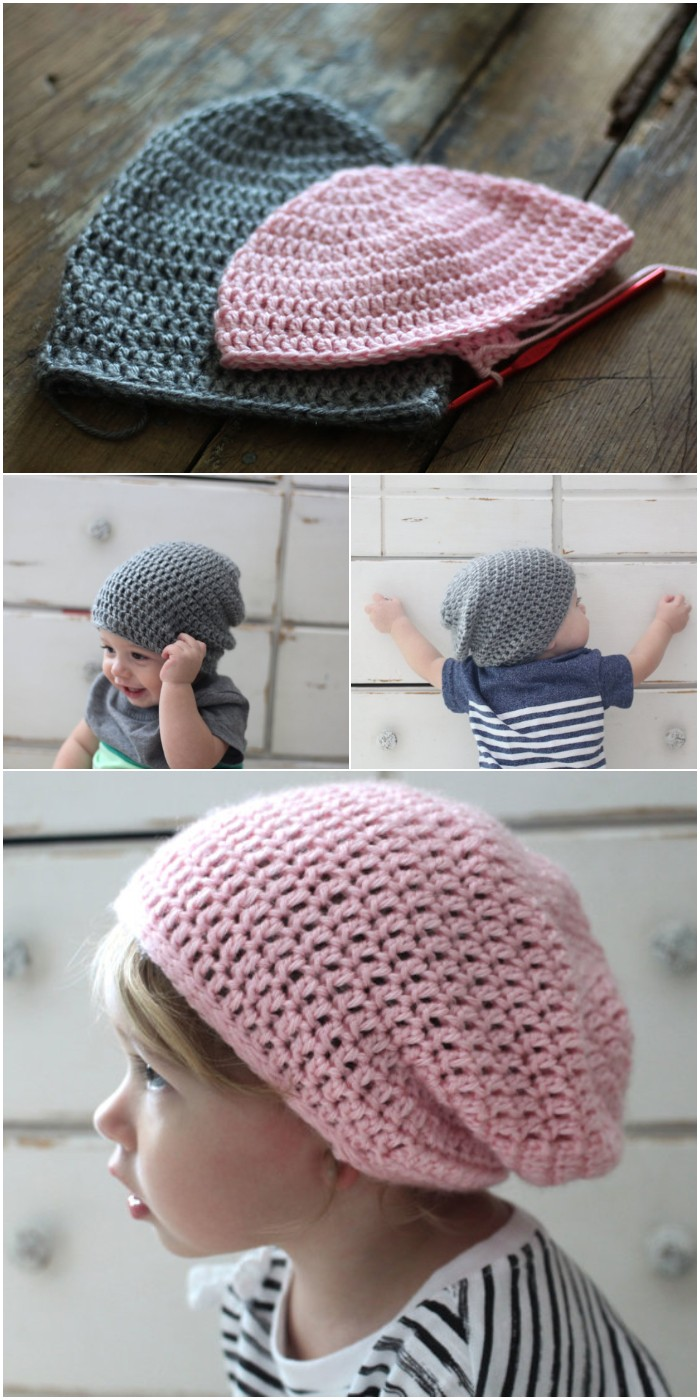 Slouchy Beanie For All Sizes