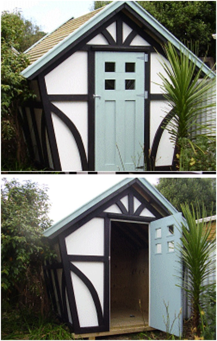The Tudor Style Shed