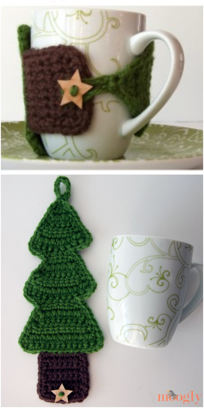 Tree Coffee Cozy