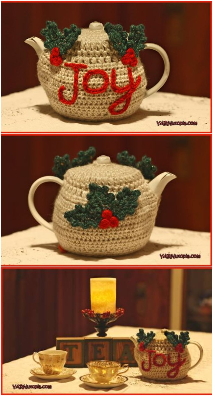 Tutorial The Joyful Teapot Cozy