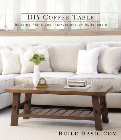 DIY Coffee Table Idea