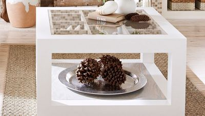DIY Display Coffee Table Idea
