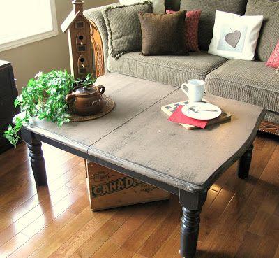 DIY Unique coffee table Idea
