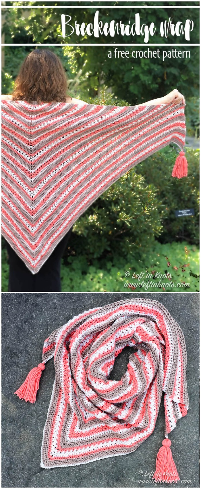 Free Triangle Shawl Crochet Pattern