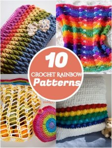 Crochet Rainbow Patterns