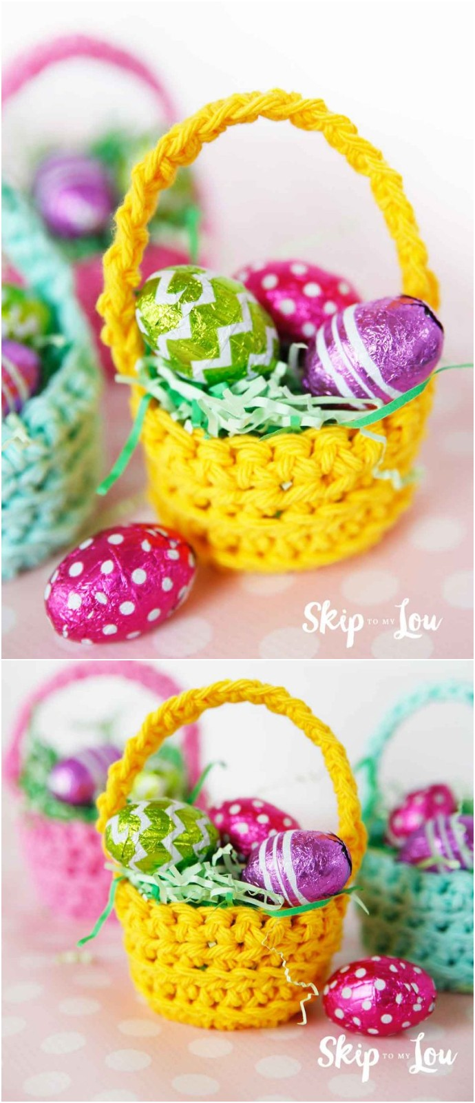 Cutest Mini Crochet Basket PatternCutest Mini Crochet Basket Pattern