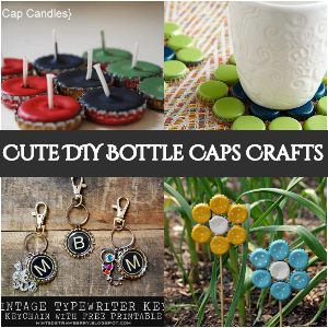 Cute DIY Bottle Caps Crafts