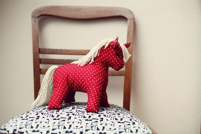 DIY 1950's Toy Horse Idea