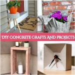 30 DIY Concrete Projects That Anyone Can Do It