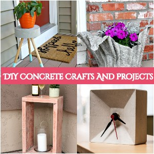 DIY Concrete Crafts
