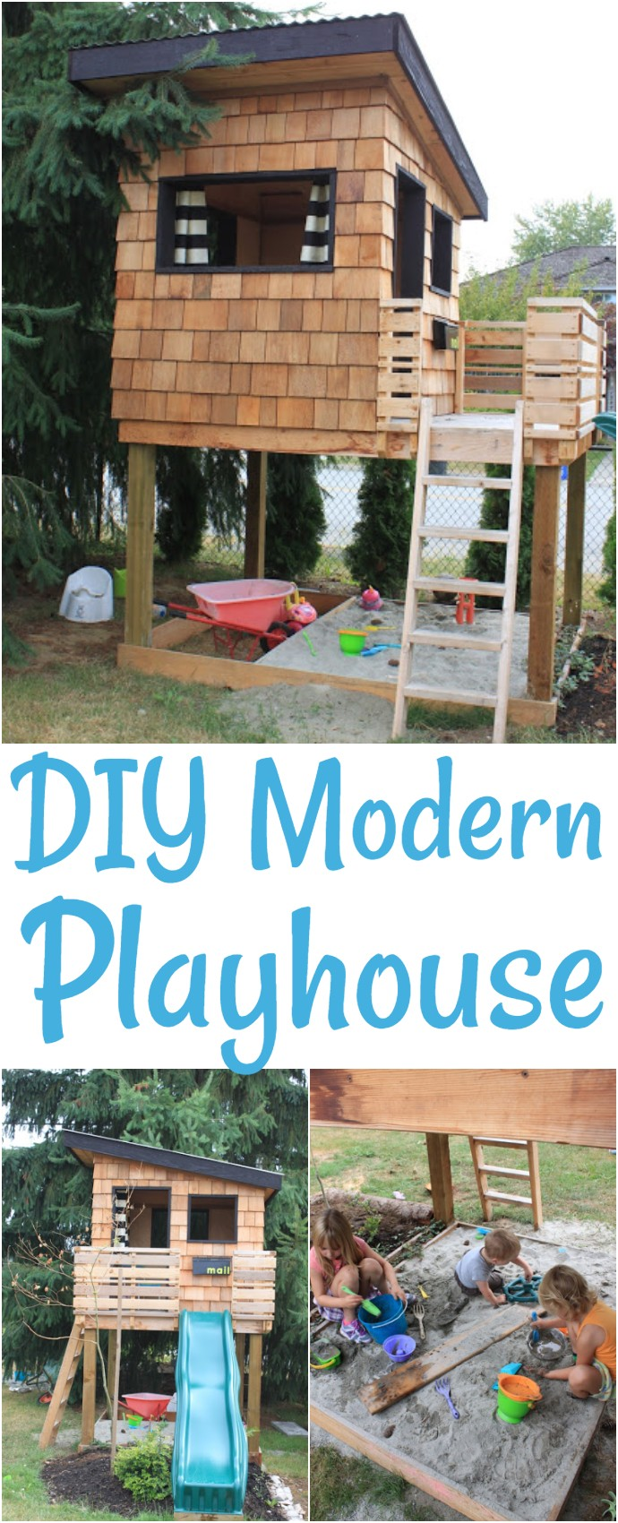 DIY Modern Playhouse