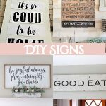 40 DIY Signs To Beautify Your Home