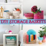 DIY Storage Baskets