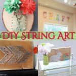30 DIY String Art Ideas And String Crafts
