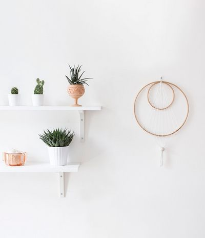 DIY Wall Hanging String Craft Idea