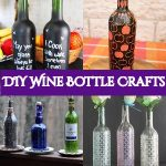 30 DIY Wine Bottle Crafts Best To Magnify Your Recycling spirit