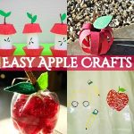 30 Easy Apple Crafts For Your Kids