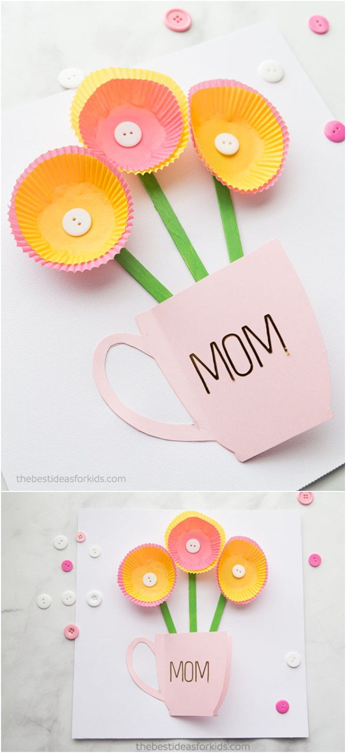 Handmade Mothers Day Card