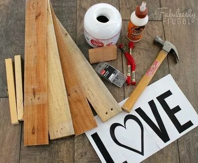 Make A Love DIY String Art Sign