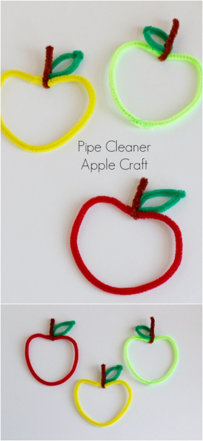 Make Pipe Cleaner Apples