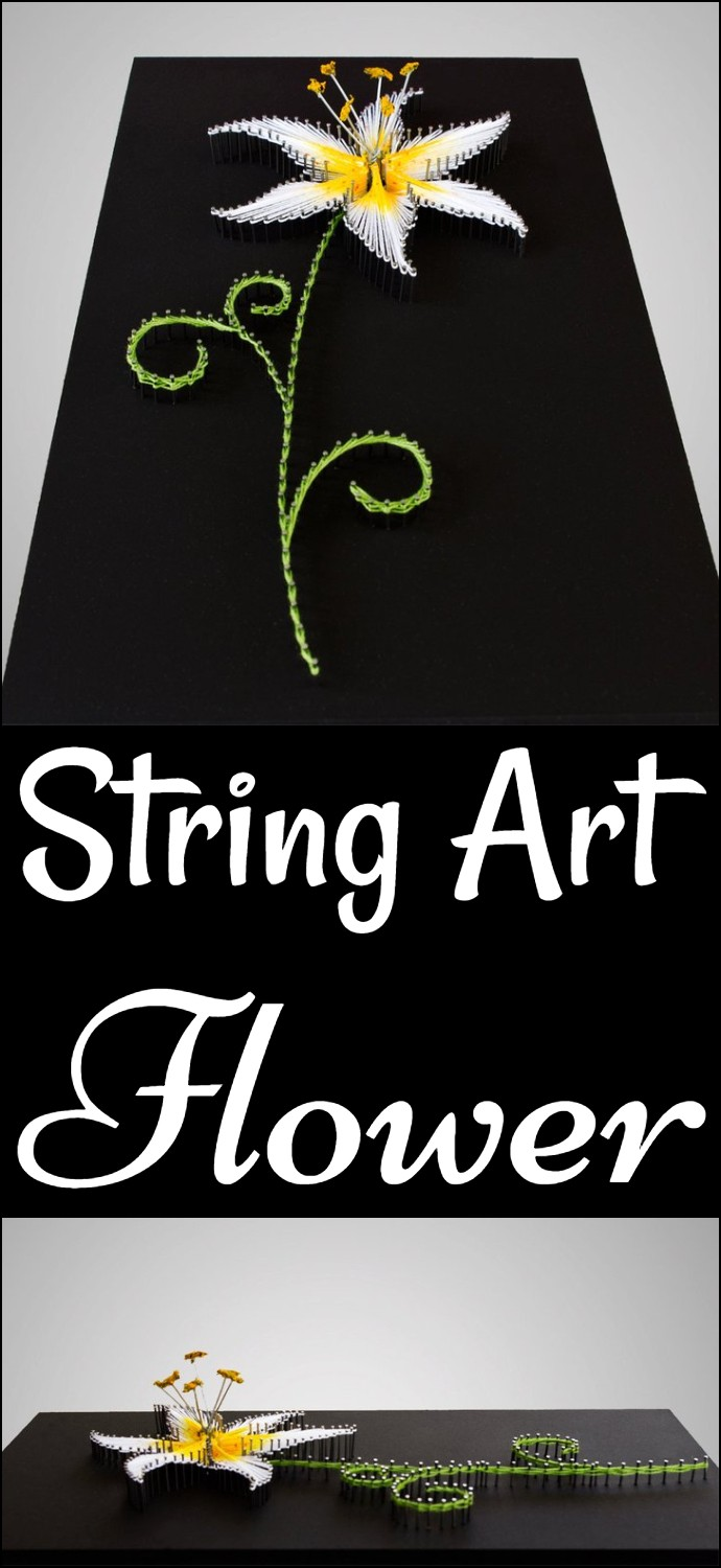 String Art Flower