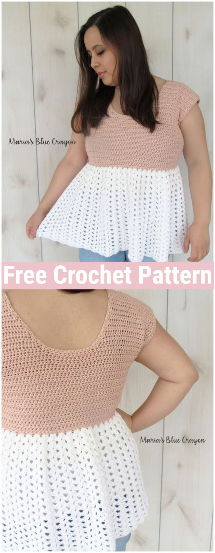 Talulah Top Free Crochet