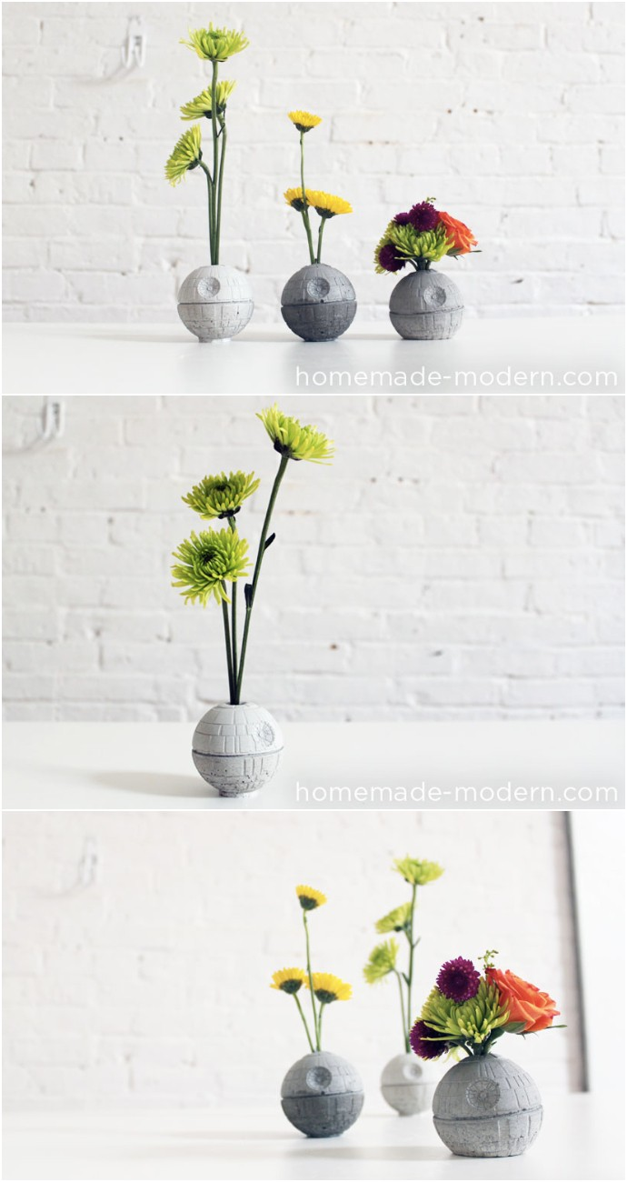 The Death Star Vase
