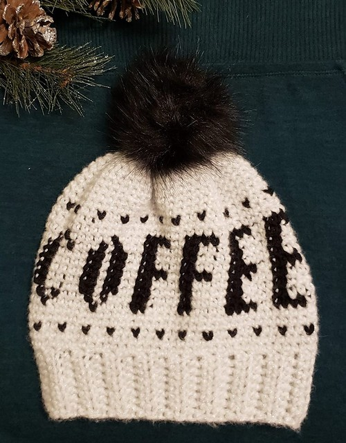 Coffee Slouchy Hat