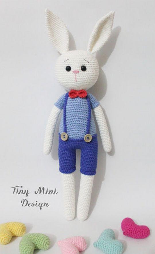 Crochet Amigurumi Cracker Bunny