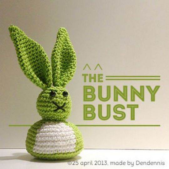 CrochetBust Bunny