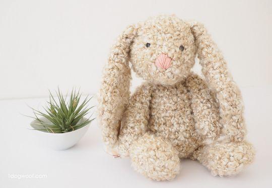 Crochet Classic Stuffed Bunny Pattern