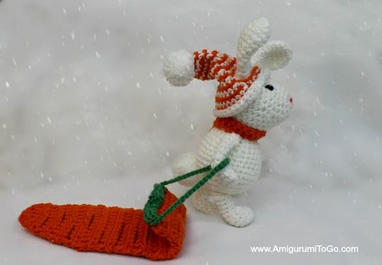 Crochet Winter Bunny Amigurumi