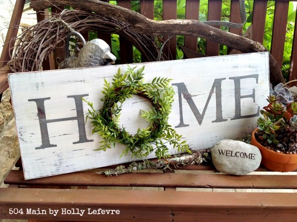 Farmhouse Style Inspired Home Sign