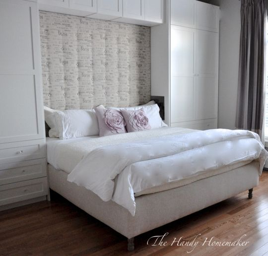 Upholstered DIY Bed Frame