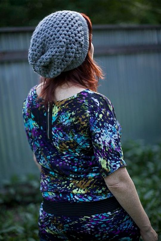 Urban Jungle Slouchy Beanie