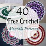 40 Free Crochet Mandala Patterns