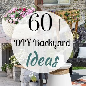 60+ Cheap DIY Backyard Ideas