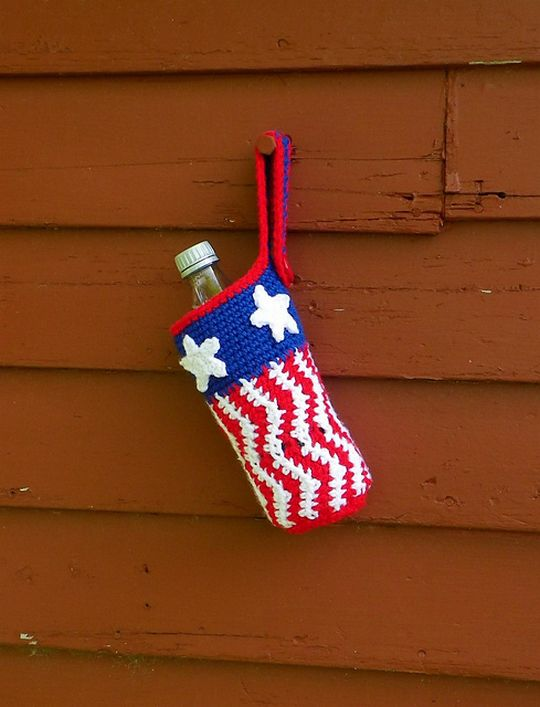 Bottle Cozy Free Crochet Pattern