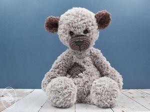 Crochet Boris the Bear Pattern