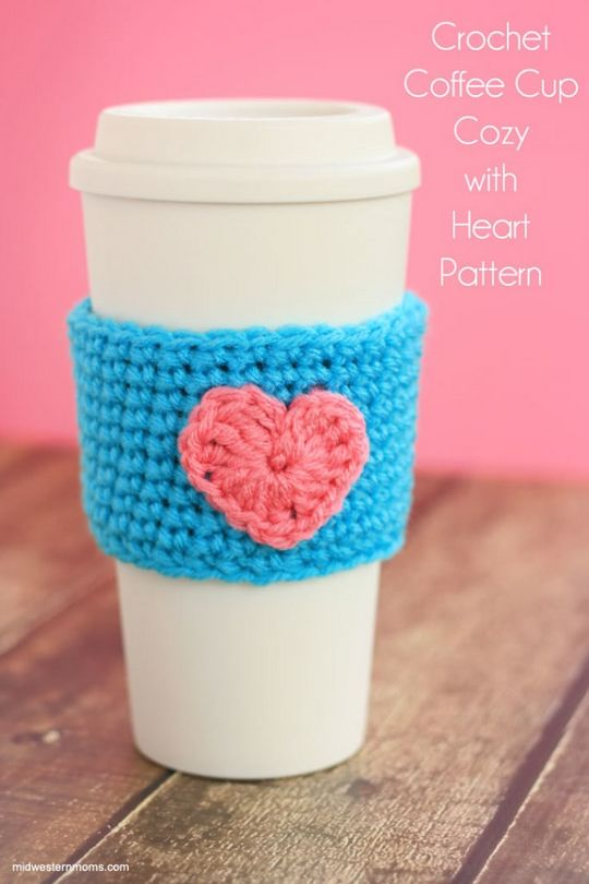 Crochet Coffee Cup Cozy Pattern