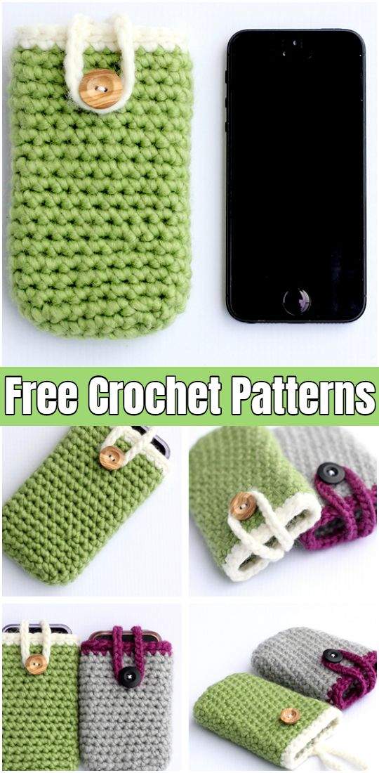 Crochet iPhone Cases