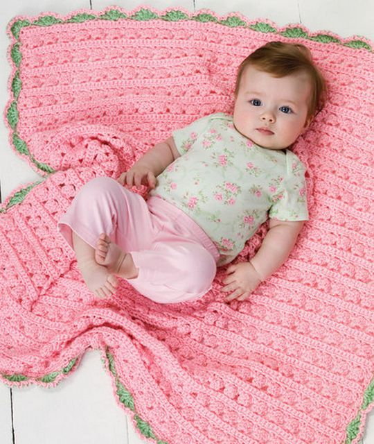 Cuddle & Coo Baby Crochet Blanket