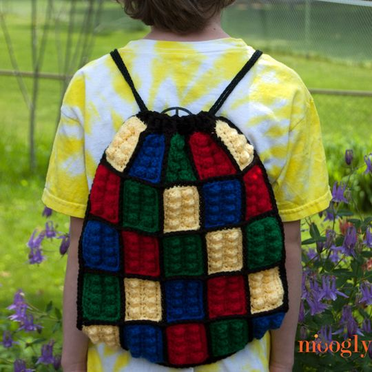 DIY Crochet Kid's Backpack Project