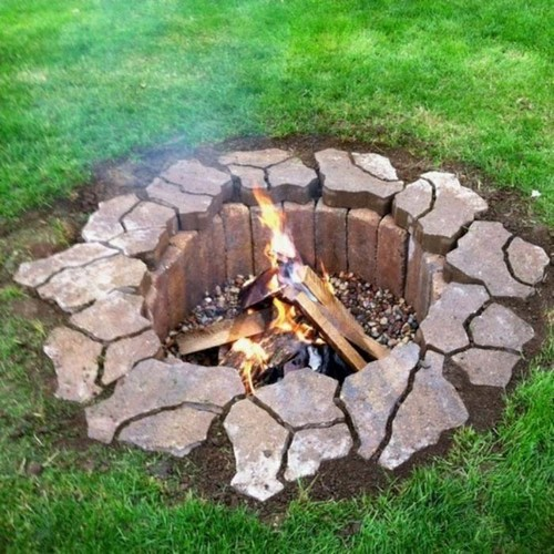 DIY Fire Pit In One Day
