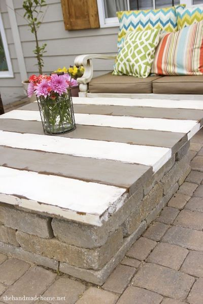 DIY Fire Pit Table Top Craft